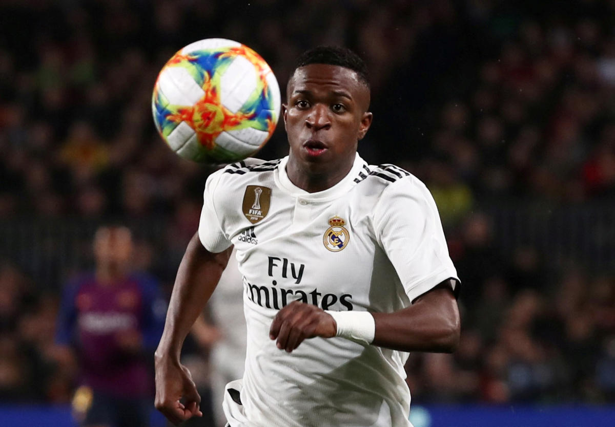 Vinicius Junior has made rapid improvements to become a key player for Real Madrid. Reuters