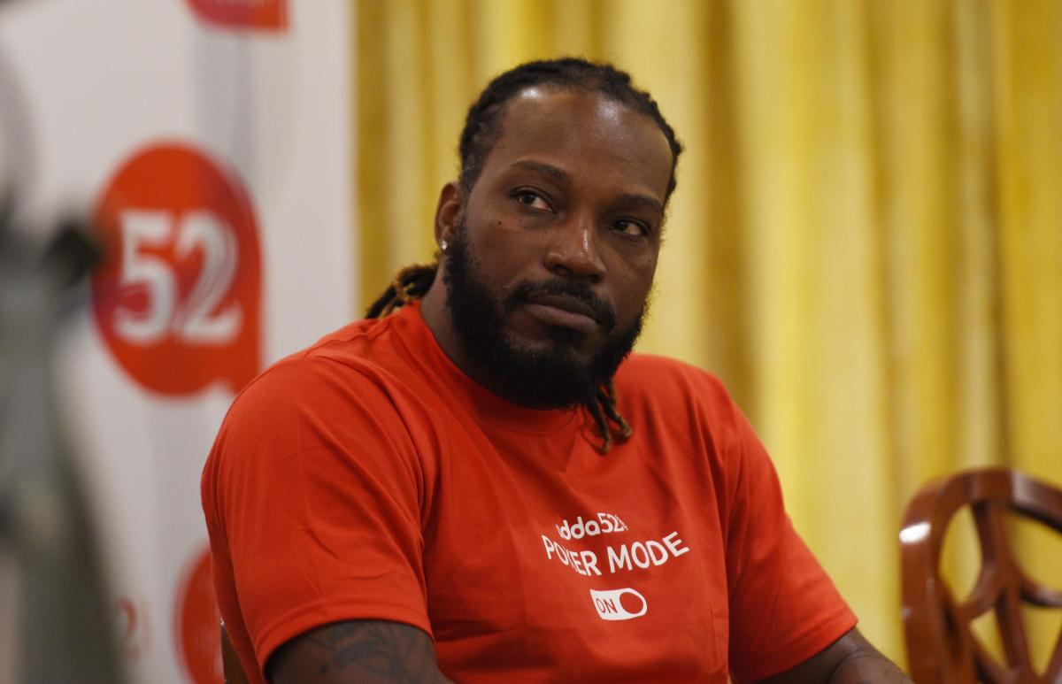 West Indies cricketer Chris Gayle. (AFP FILE PHOTO)