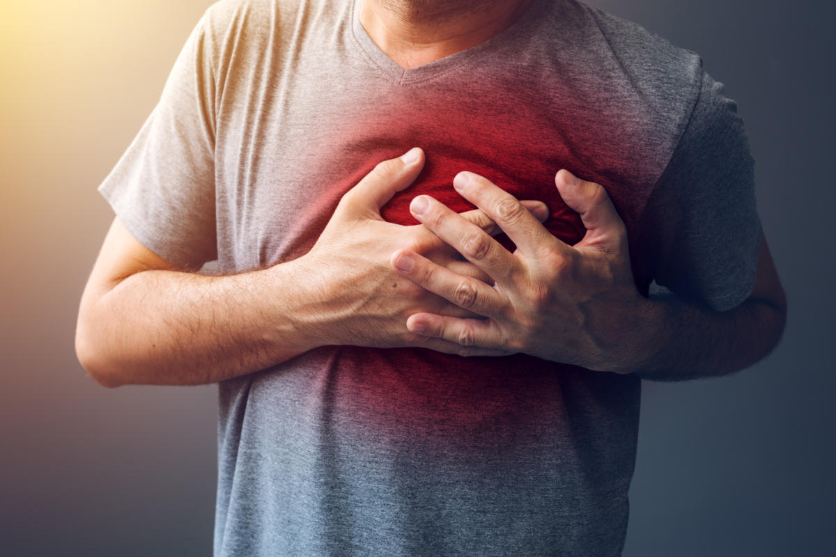 Severe heartburn and heart attack can be hard to tell apart