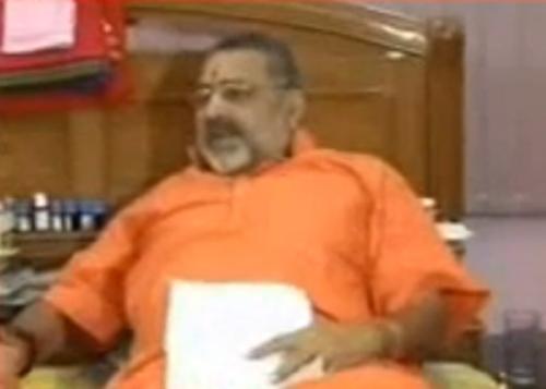 FIR filed against Giriraj Singh, Gadkari, other BJP leaders