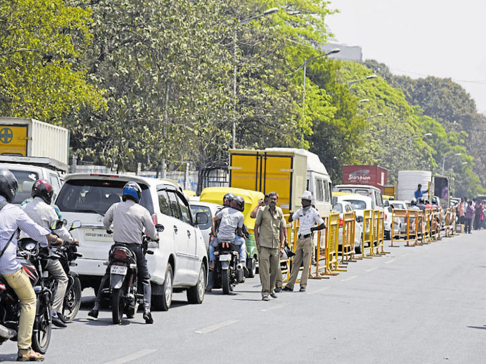 BMTC changes bus routes to ease traffic on choked Sheshadri Road
