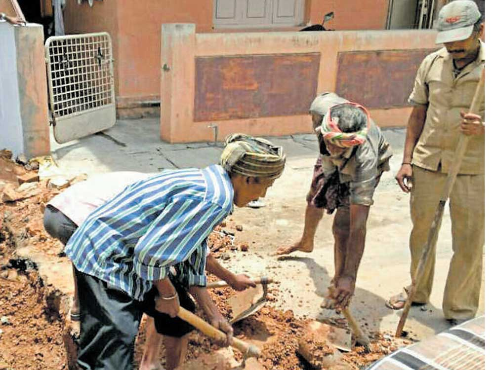 Resident says BBMP official harassing him for objecting to shop's plan violation