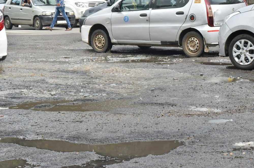 BBMP claim on potholes a sham