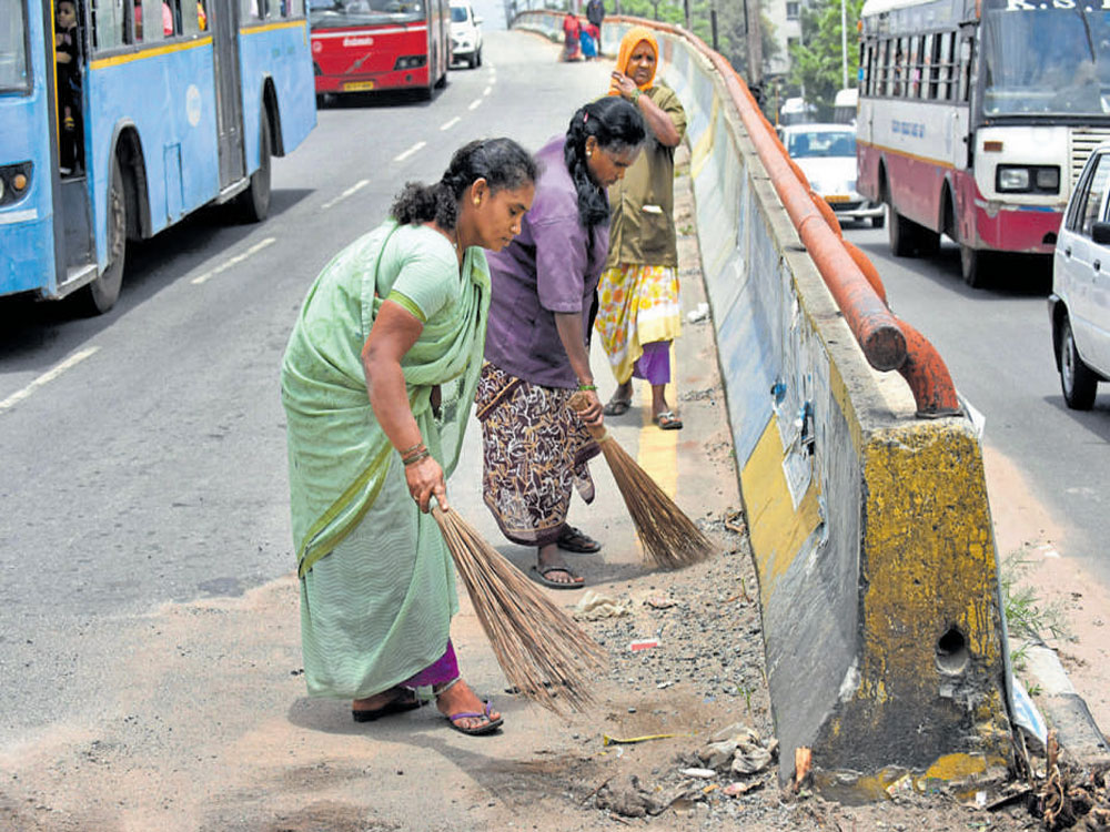 BBMP finally takes Swachh Survekshan survey seriously