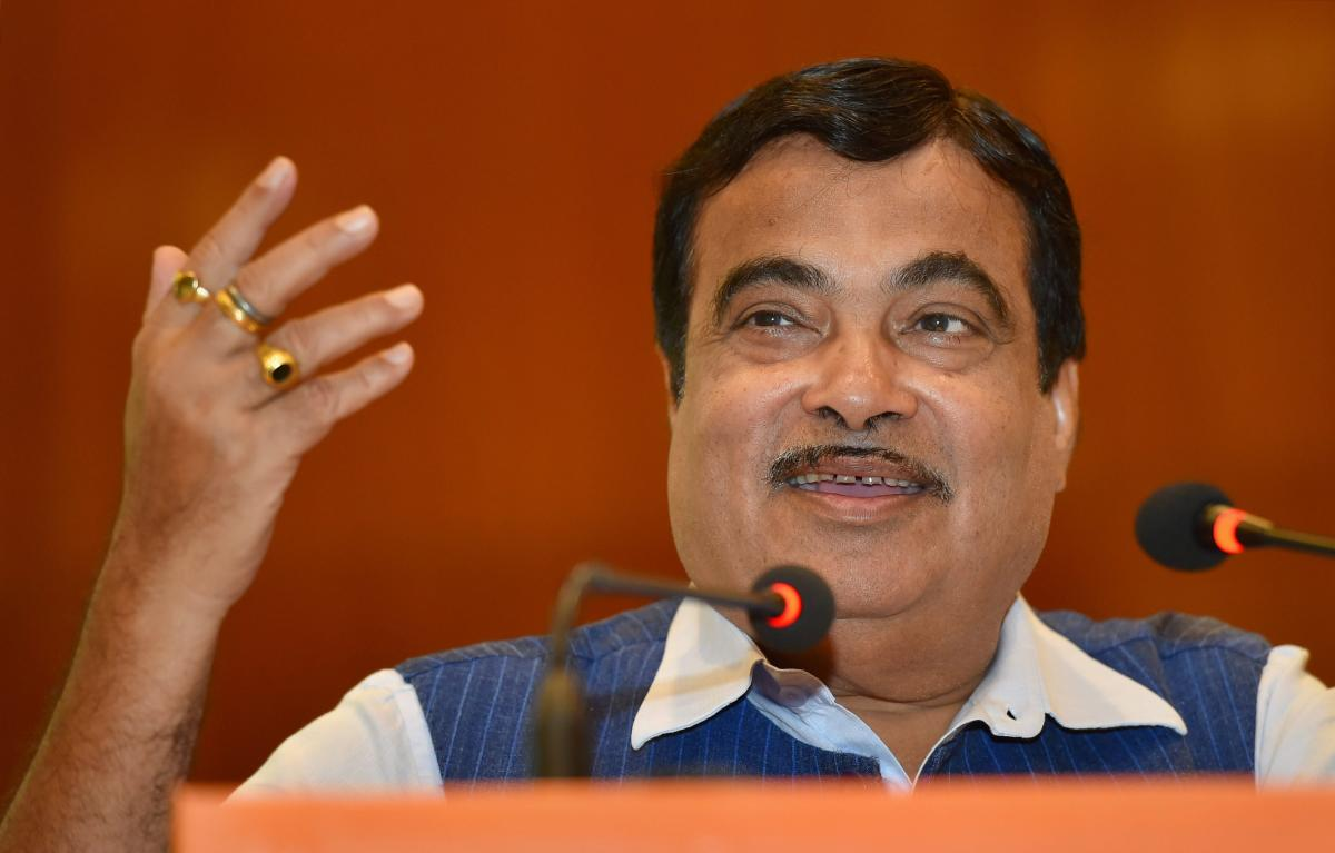 Union Minister for Water Resources Nitin Gadkari. (PTI File Pic)