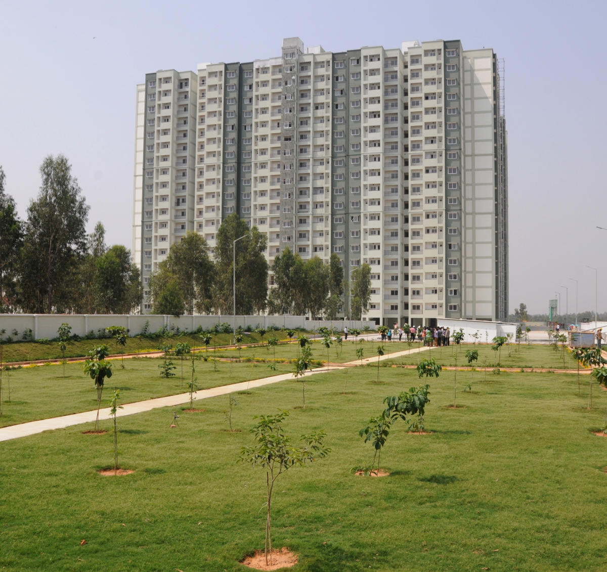 BDA flats at Doddabanahalli. DH flile photo