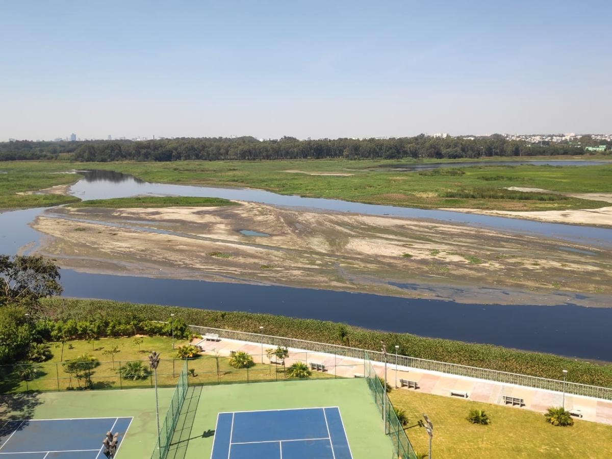 Water level reduced as sluice gates were opened, BDA said.