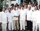 Telangana splits Andhra