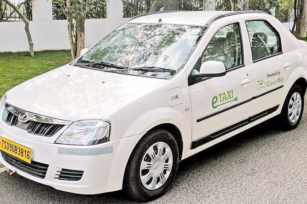 India's first electric taxi service launched in Hyderabad