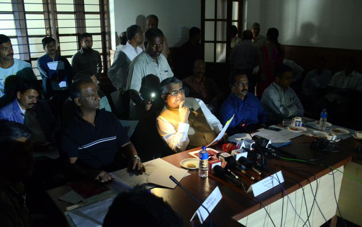 Power outage at Suvarna Vidhana Soudha