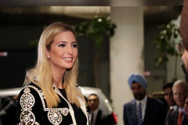 Ivanka Trump arrives at Hyderabad for GES-2017