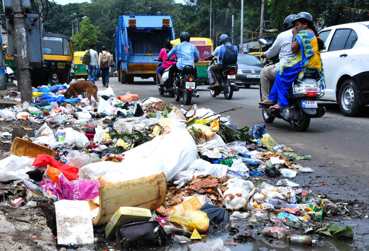 After futile appeals to the BBMP to stop dumping garbage, residents ofKaggadasapura have decided to embark on a cleaning drive.