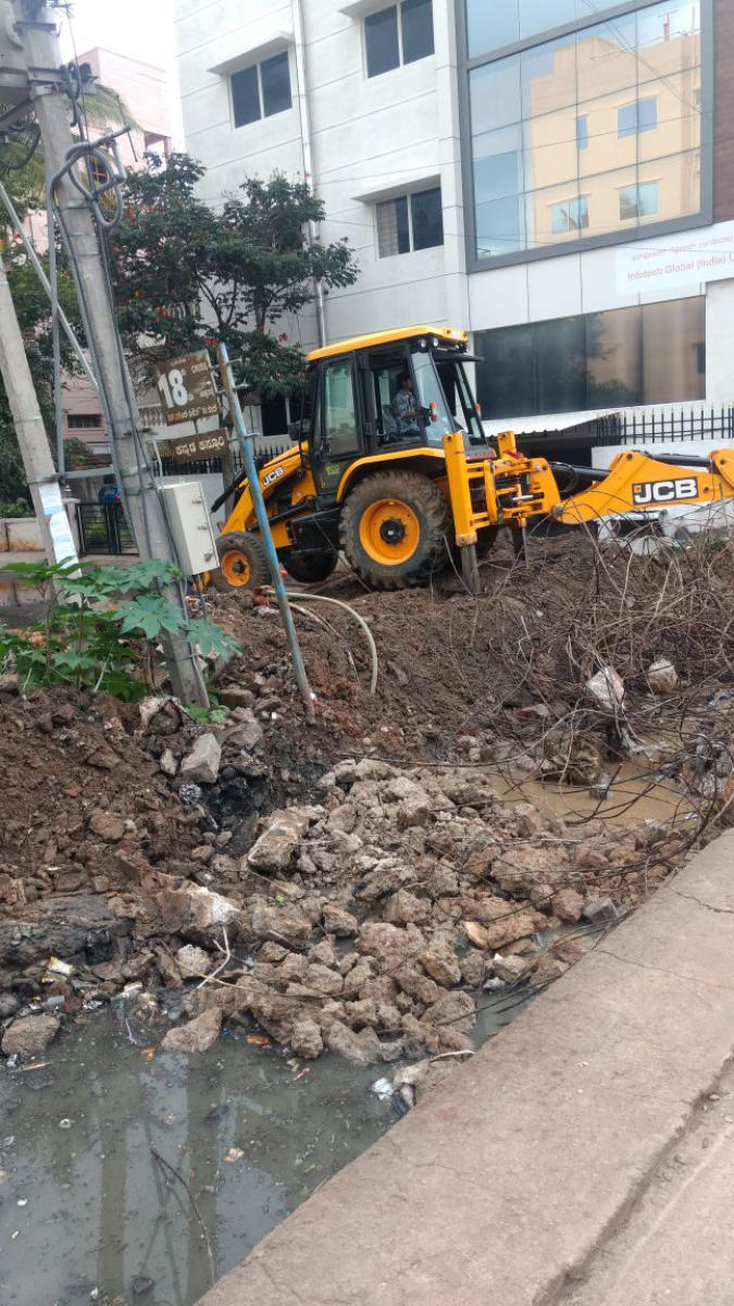 The BBMP removed 428 encroachments in 2016-17 and 2017-18.