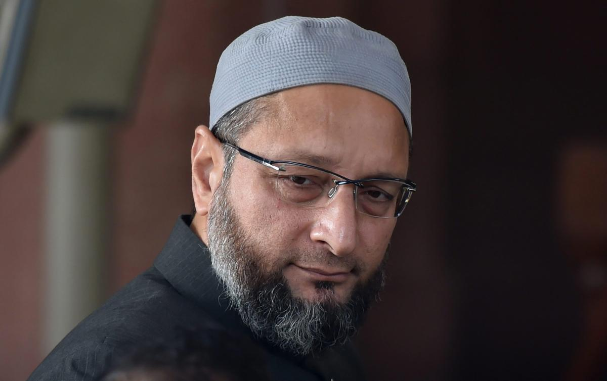 AIMIM MP Asaduddin Owaisi. PTI file photo