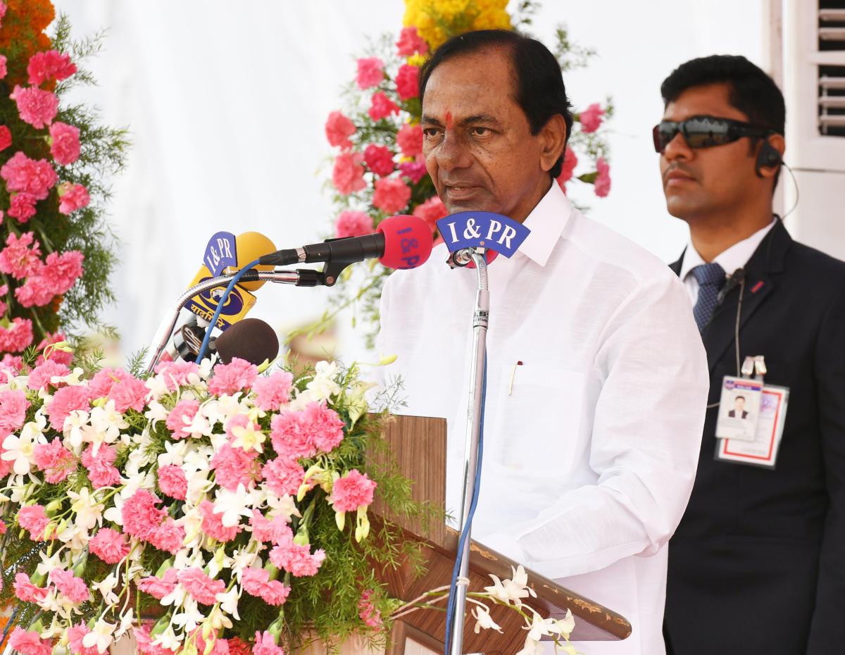 Chandrasekhar Rao. DH file photo