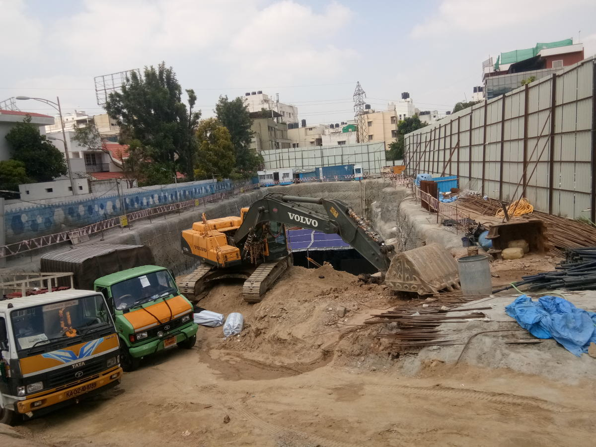 A picture of BBMP CA site in Domlur