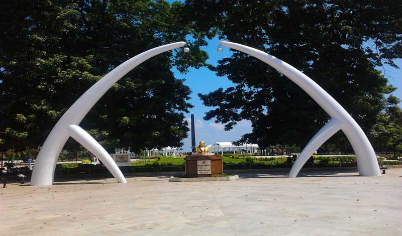 AIADMK Government triggered a political crisis in Tamil Nadu on Tuesday evening by denying space behind C N Annadurai's memorial on the historic Marina Beach for DMK chief M Karunanidhi to be buried near his mentor's resting place. Wiki photo