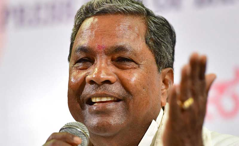 Former Chief Minister Siddaramaiah on Friday said that no one should bring politics in the country's security. DH file photo