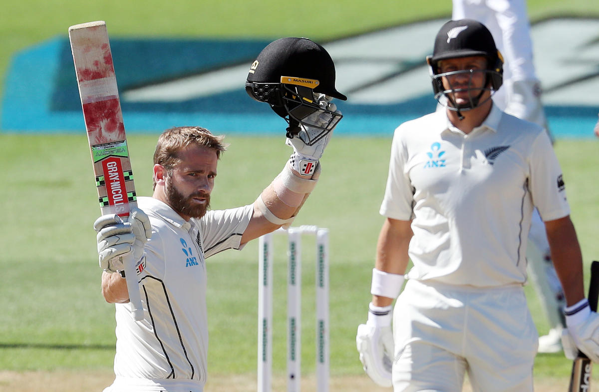 PROLIFIC New Zealand skipper Kane Williamson struck a double ton on the third day three of the first Test match against Bangladesh in Hamilton on Saturday. AFP