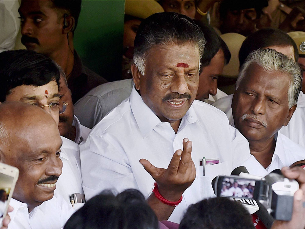 OPS urges EC to conduct poll to elect new AIADMK chief