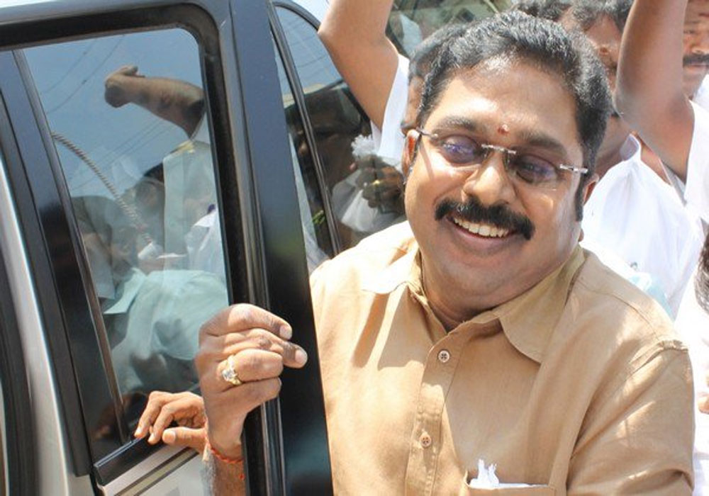 AIADMK Amma faction to support NDA Prez nominee: Dhinakaran