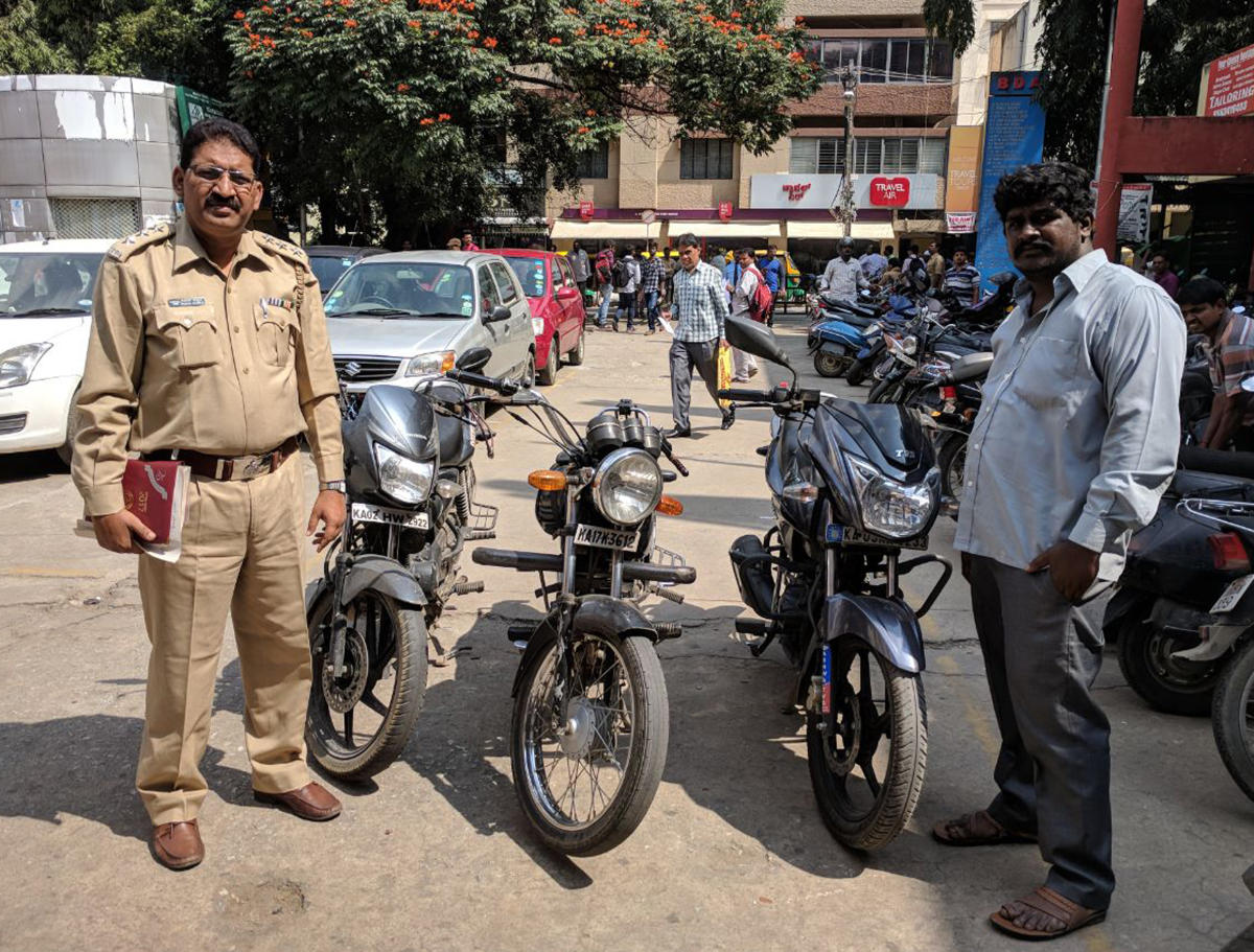 RTO officials across the city are seizing private bikes that are illegally operating as bike taxis.