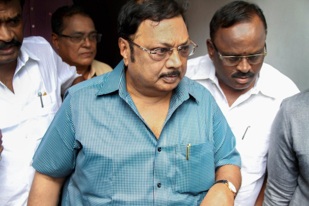 Alagiri has been in political hibernation since his expulsion from the party in 2014 by Karunanidhi. The former union minister was sacked at the height of his fight with Stalin over establishing supremacy in the party. PTI File Photo