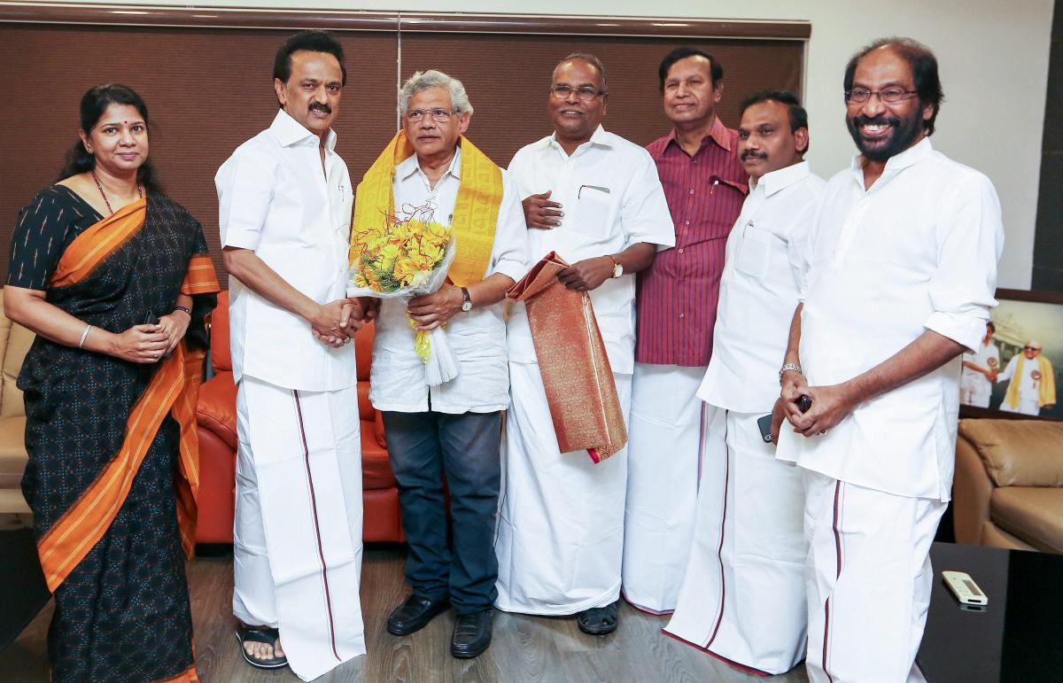 CPM is the latest party to announce joining the DMK-led front to face the Lok Sabha polls due in 2019 summer.