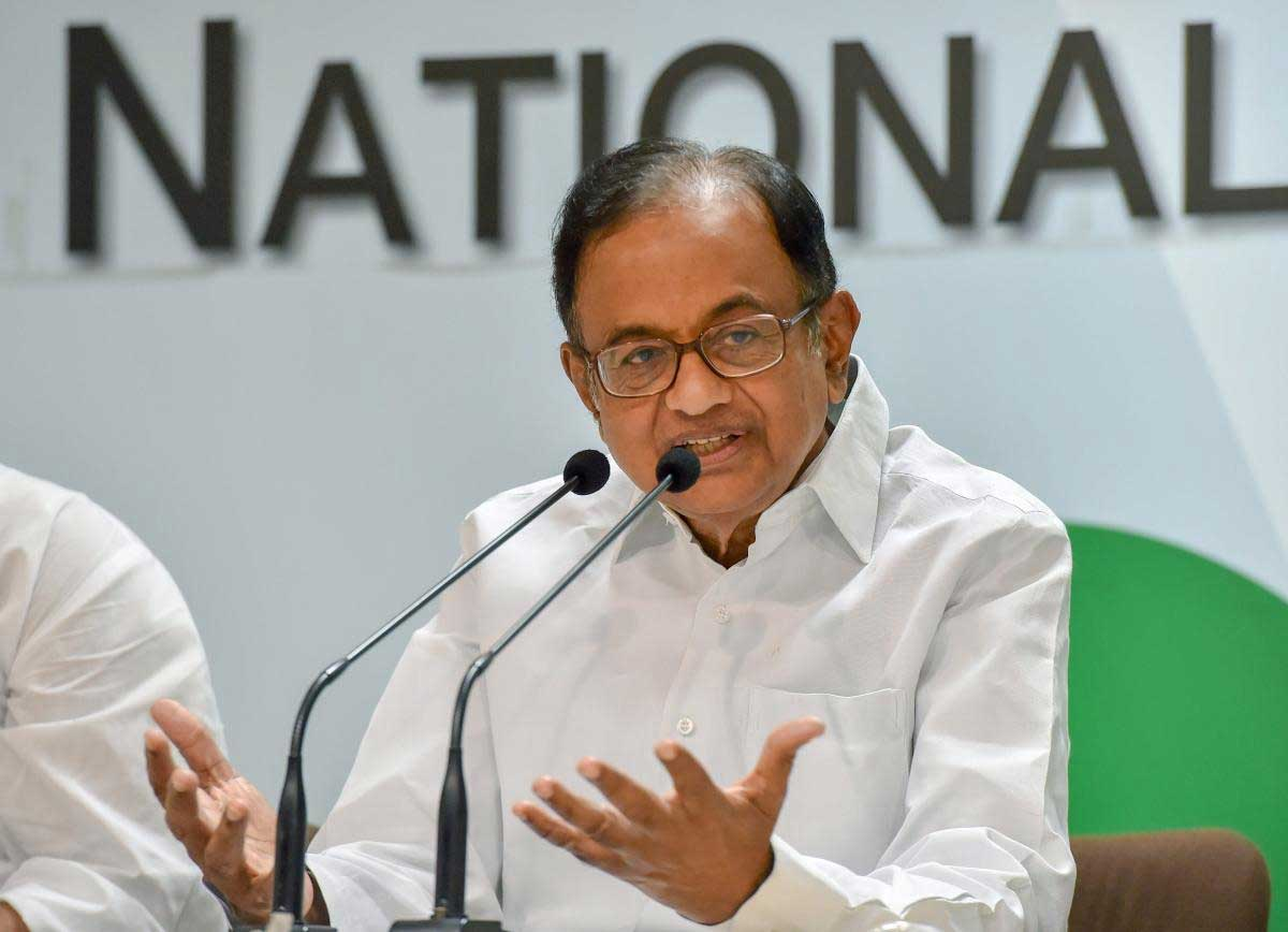 """Former Union Finance Minister P Chidambaram on Monday asked the NDA Government to """"make the effort"""" to clear the doubts over Balakot air strikes if """"we want the world to believe"""" the operation that struck the JeM terror camps deep inside Pakistan rather than indulging in """"Opposition-bashing."""" PTI file photo"""