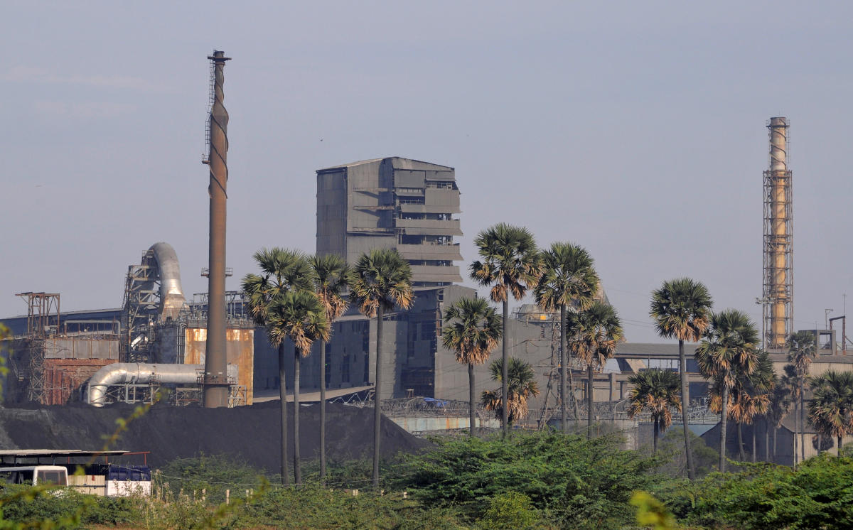 A general view shows Sterlite Industries Ltd's copper plant in Tuticorin. Reuters file photo