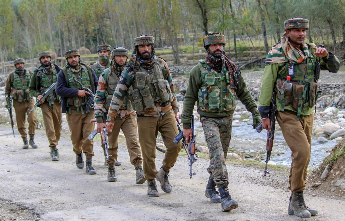 Two militants affiliated with Hizb-ul-Mujahideen outfit were killed and a civilian injured in a gunfight between security forces and ultras in restive Tral area of south Kashmir's Pulwama district on Tuesday. PTI file photo
