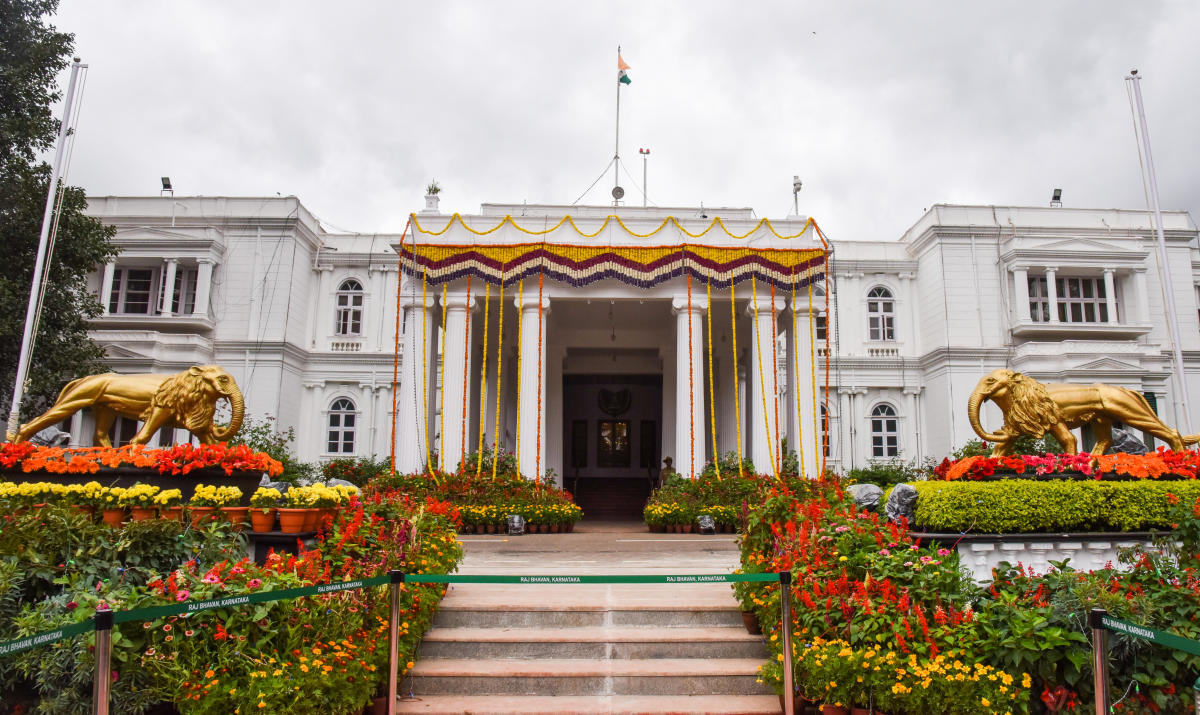The horticulture department is working on installing an air quality monitoring system along with misting and foliage spray instruments at the Raj Bhavan