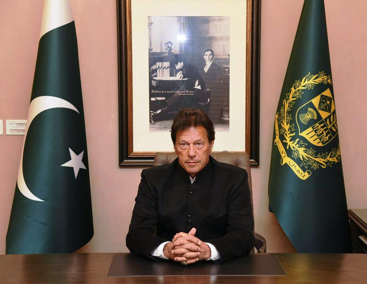 """I am not worthy of the Nobel Peace prize. The person worthy of this would be the one who solves the Kashmir dispute according to the wishes of the Kashmiri people and paves the way for peace & human development in the subcontinent,"" Khan tweeted. (PTI File Photo)"