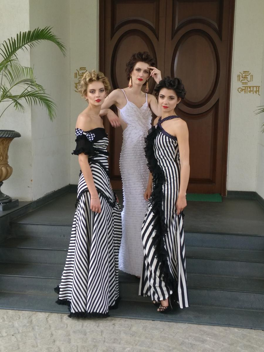 Gowns designed by Jattinn.