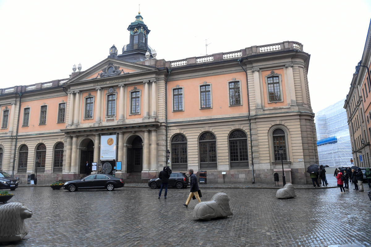 During the scandal, several members of the Swedish Academy resigned as divisions appeared between those outraged by Arnault's behaviour and others accused of having failed to denounce him. Reuters file photo.