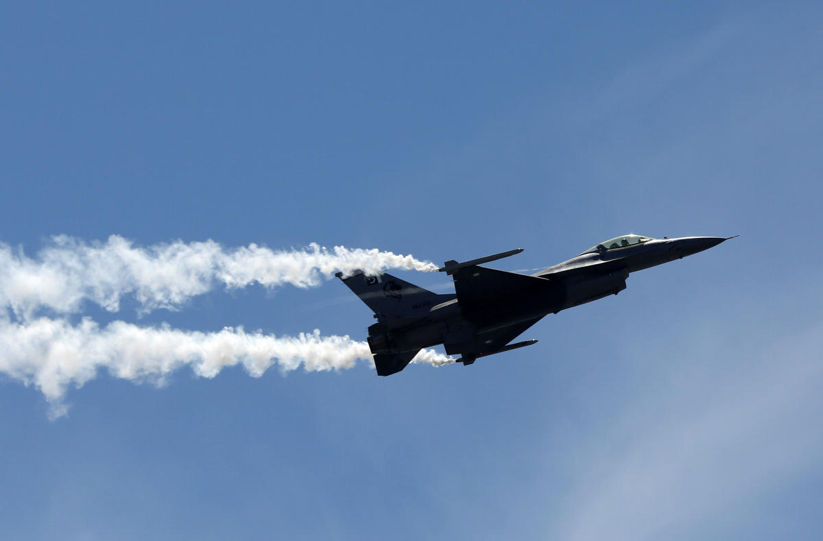 Pakistan has said that no F-16 fighter jets were used. (Reuters File Photo)