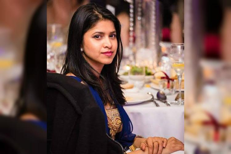 Dr Preethi Reddy last seen standing in line at the fast food centre.