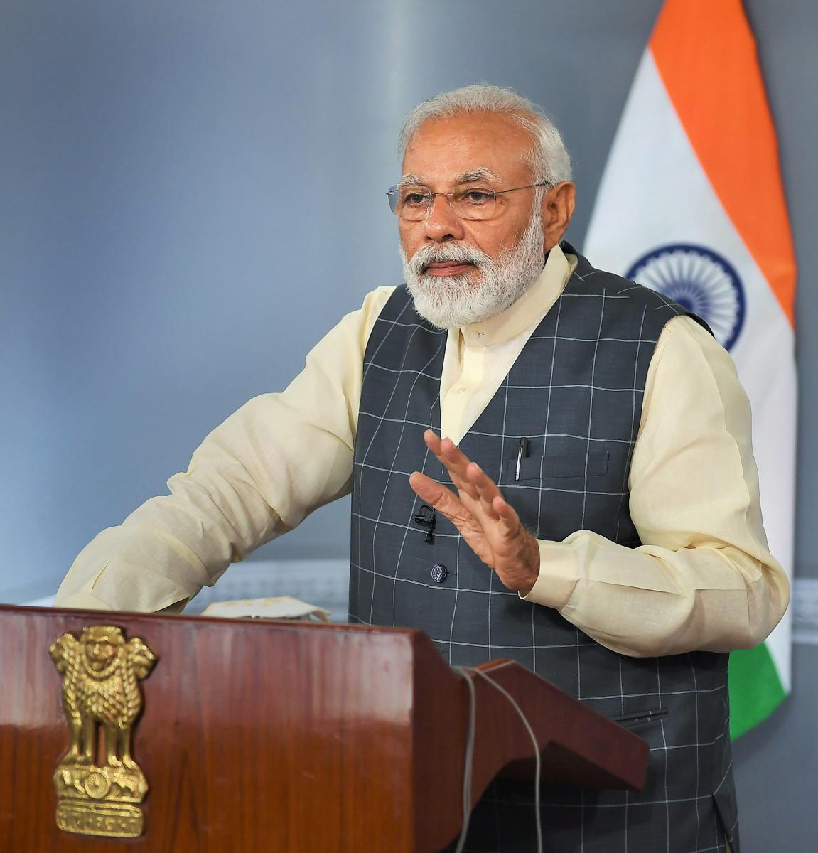 """Prime Minister Narendra Modi on Friday claimed that """"non-cooperation"""" by the previous Samajwadi Party government in Uttar Pradesh was responsible for the delay in start of a beautification project in his Lok Sabha constituency. PTI file photo"""
