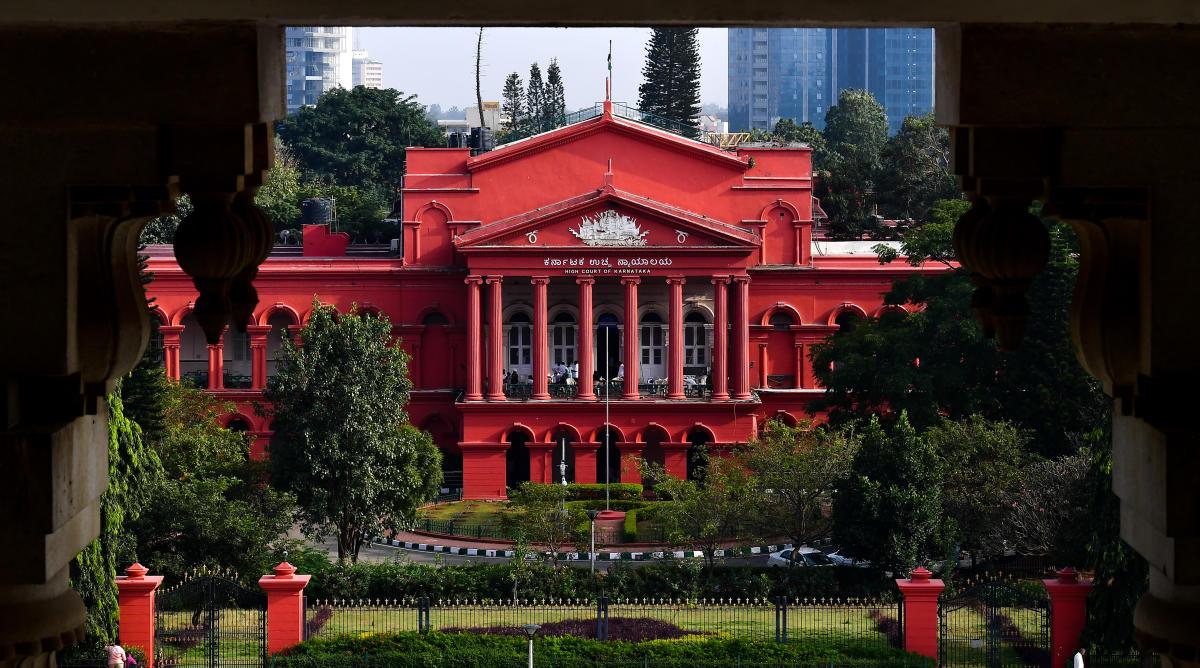 The Karnataka High Court in Bengaluru.