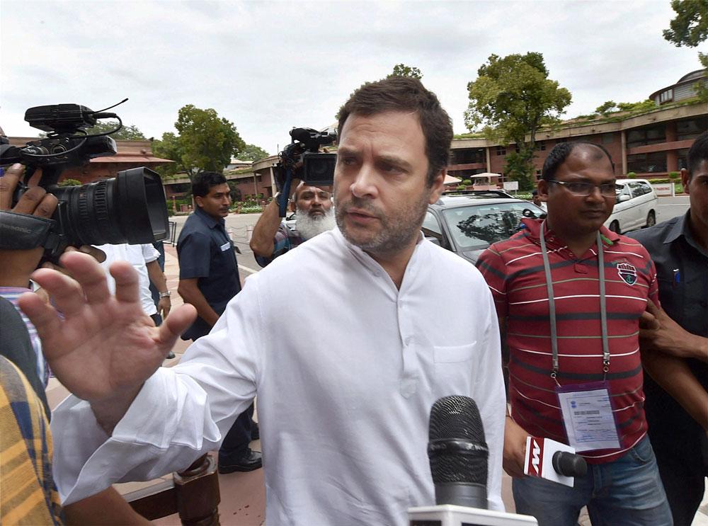 Congress president Rahul Gandhi. PTI file photo.