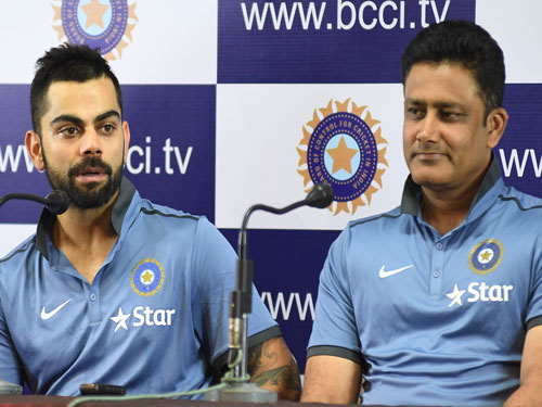 Failed to resolve differences between Kohli and Kumble: BCCI