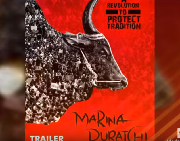 "The movie, according to the makers, chronicles the struggle of 10 lakh Tamil people to get their ""cultural right"" of conducting the bull-taming sport upheld by the authorities."