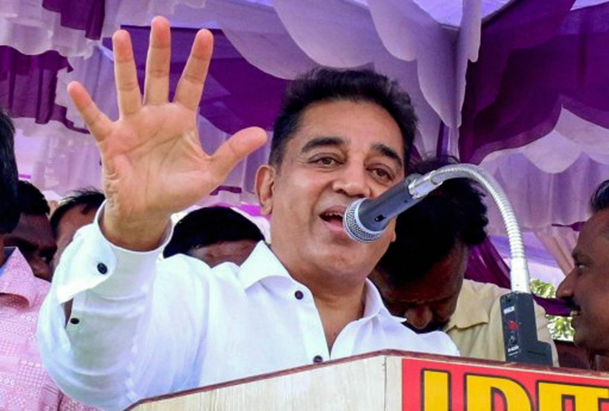 Kamal Haasan supports anti-Sterlite protest