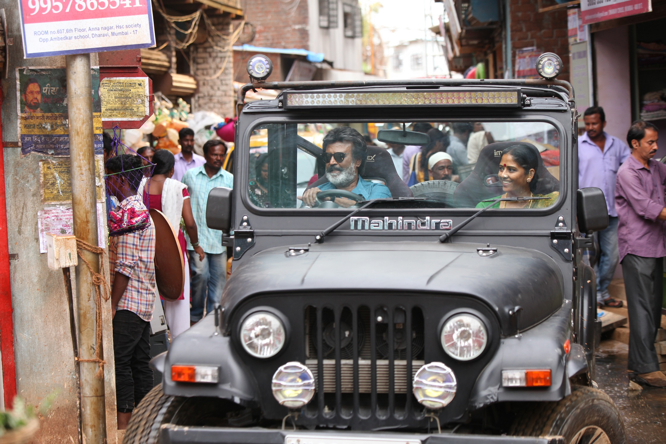 Kaala comes from Pa Ranjith, who directed Madras and Kabaali. It is produced by Dhanush.