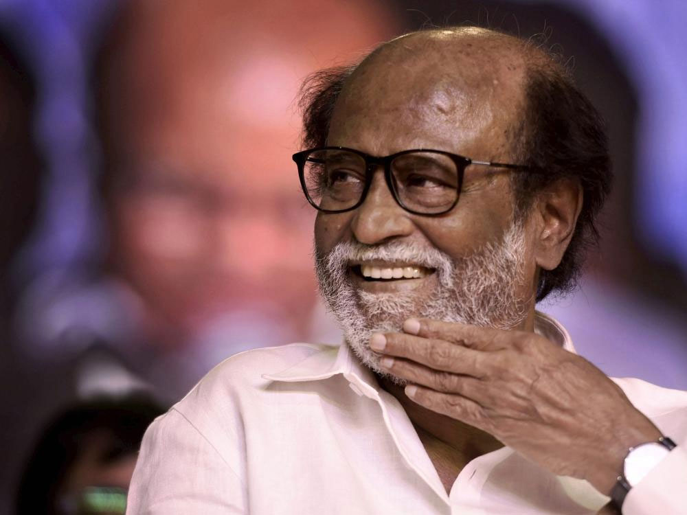Rajinikanth also stuck to his comments that the worst form of violence was attacking policemen on duty despite all-round criticism against his statement. PTI File Photo