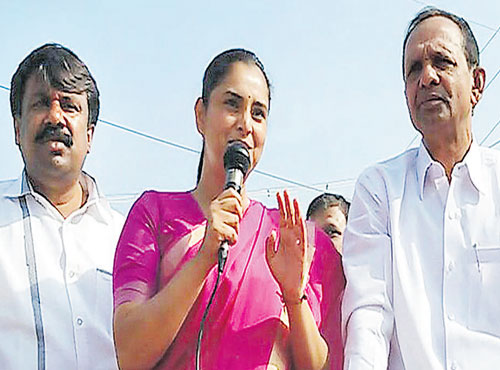 Panchayat canvassing hits new low as Ramya-HDK fight turns personal
