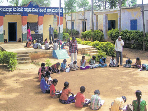 Enrolment in govt schools on the decline
