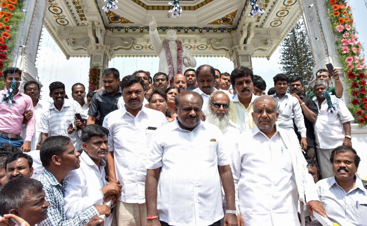 JD(S) will be 'king', not 'kingmaker': HD Kumaraswamy