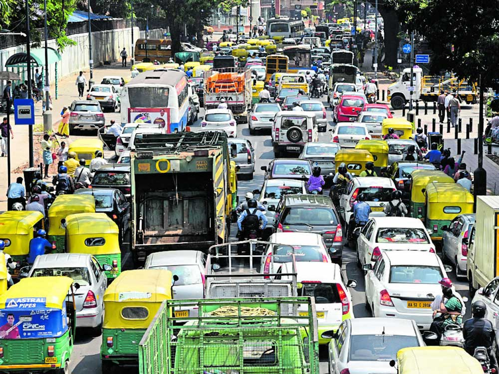 Bengaluru is the second-most congested among Indian metros.
