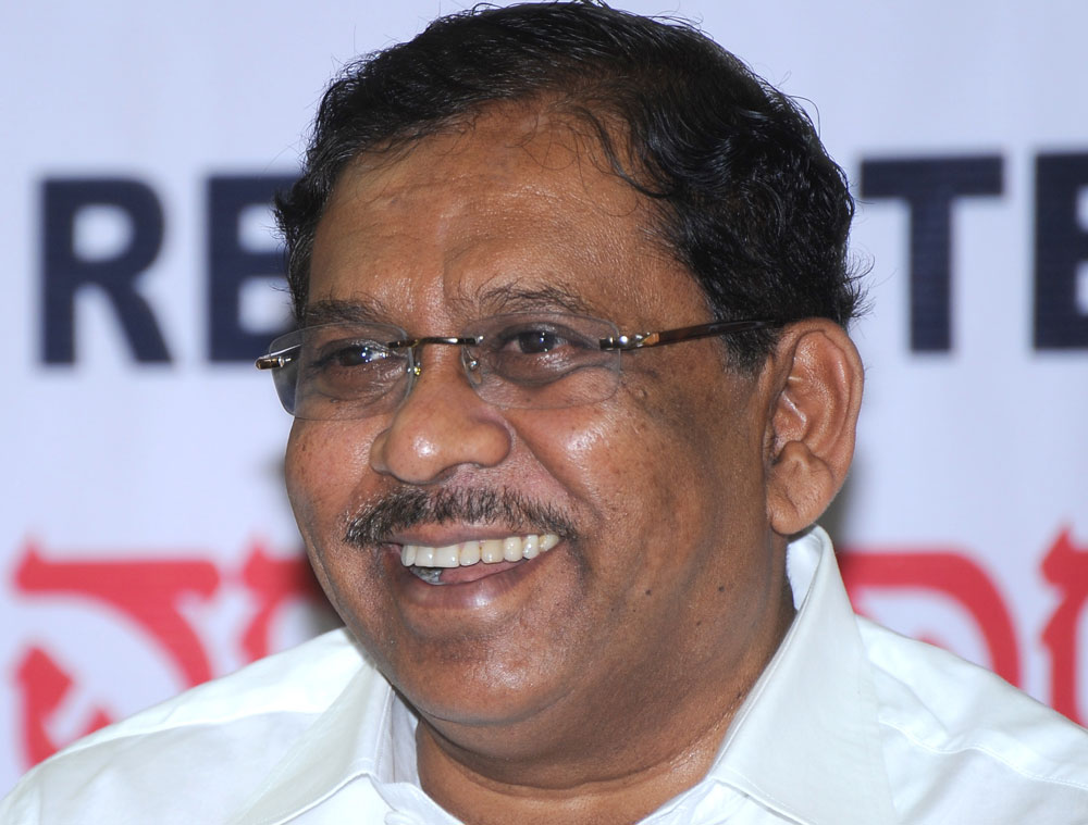 Deputy Chief Minister and Home Minister G Parameshwara. DH file photo
